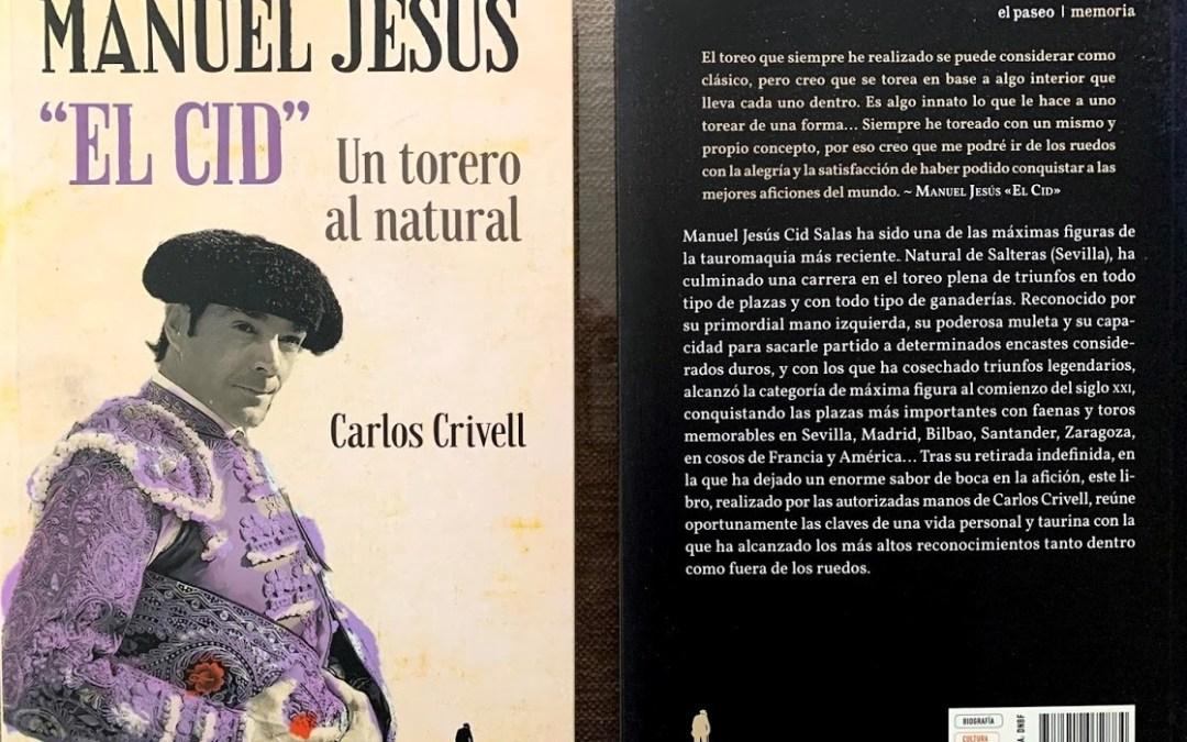 El libro de Manuel Jesús El Cid, protagonista en El País