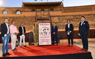 Presentado el cartel del festejo mixto de Osuna el 1 de agosto
