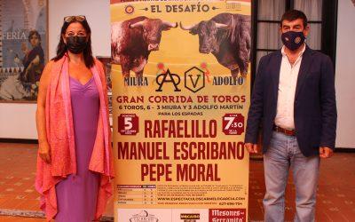 Desafío entre las ganaderías de Miura y Adolfo Martín en Utrera