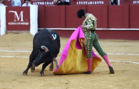//Andalucia// 21-8-2015  Malaga Sexta corrida de feria en la mlagueta para los espadas MMorante de la Puebla, Manzanares y Salvador Vega Fotografo  ANTONIO PASTOR