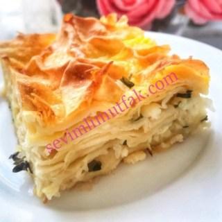 Su Böreği Tadında Peynirli Börek Nasıl Yapılır?