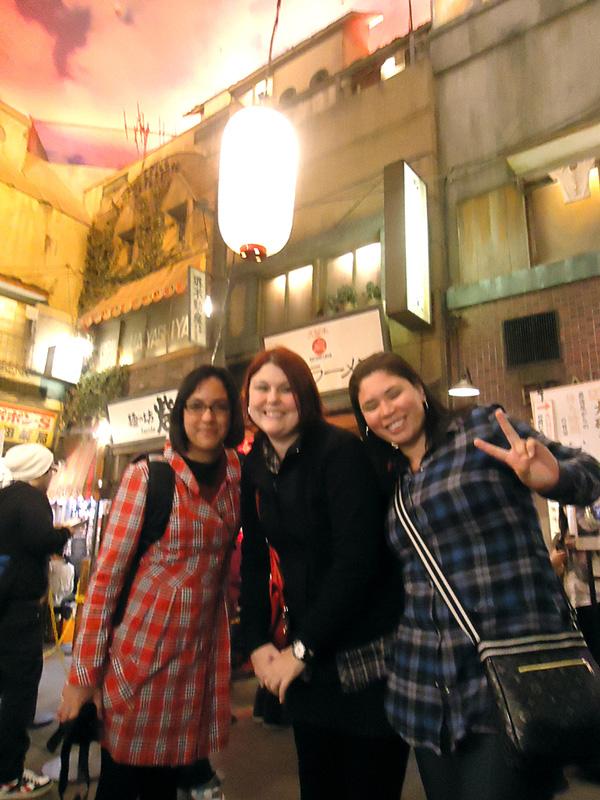 As 3 amigas no Museu do Ramén