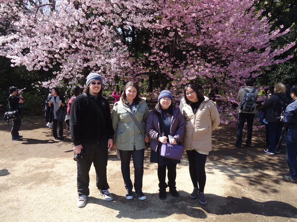 Amigos no Shinjuku Gyoen Park