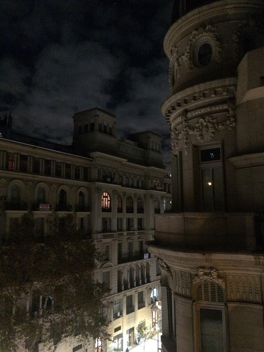 visão da sacada do gilper hostel