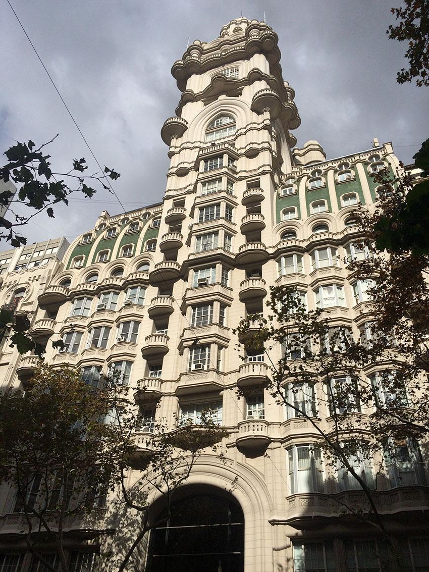 Palácio Barolo na Avenida de Mayo