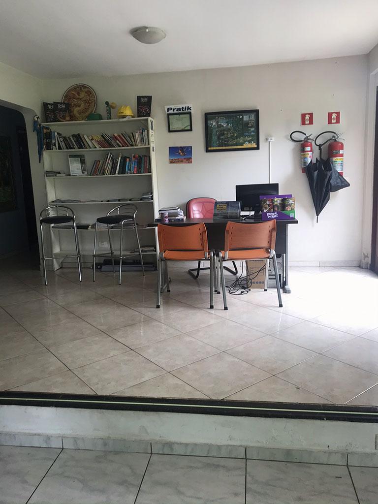 recepção Hostel em Foz do Iguaçu - Iguassu Guest House