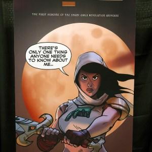 'Latifa' comic book by Michael Michael