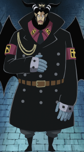 Magellan is the vice warden of Impel Down