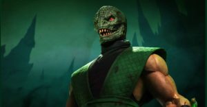 Reptile without the mask