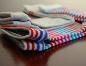 Sock to legwarmer conversion