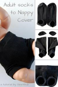 5 min Bonds nappy cover hack sew4bub