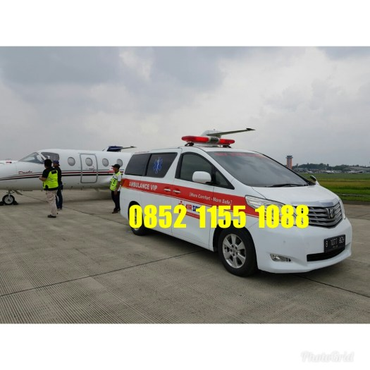 ambulance alphard