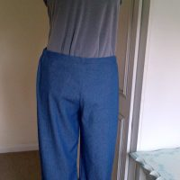 Owyn Pants (Denim) - Lotta Jansdotter: Everyday Style