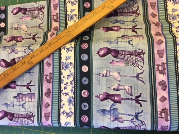 tailors dummy sewing cotton fabric