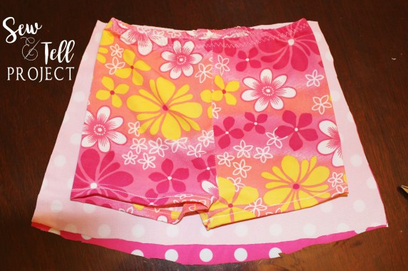 Add a cute skirt to the Coco Cay Tankini!
