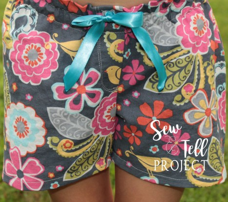 Luna Loungewear - Cute and Comfy Pajama Shorts.