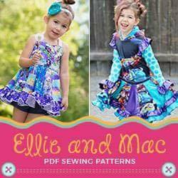 Ellie and Mac PDF Sewing Patterns