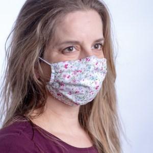 Reusablefabric face masks