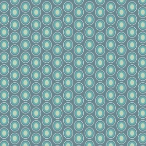 Vintage blue From Oval Elements By AGF Studio