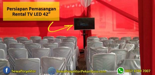 """Harga murah Rental TV 42"""" Pekanbaru"""