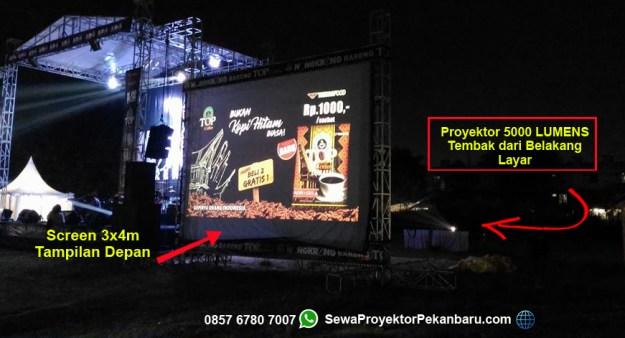 Harga Sewa Projector 5000 ansi lumens di Pekanbaru