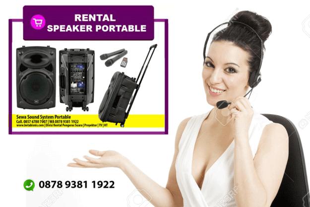 Rental speaker aktif pekanbaru