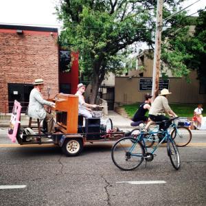Cadillac Kolstad entertains on wheels!
