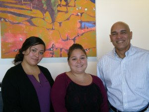 The Landreau Group: Liz Zucate, Sarah Soria, and Carlos Landreau.