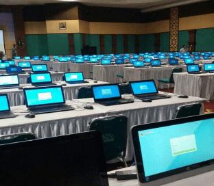 Event Rental Laptop Test CPNS di Kota jakarta