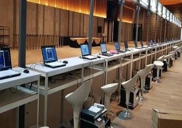 event indonesia property expo di JCC dengan rental laptop core i7