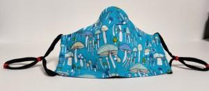 Mushroom fitted mask