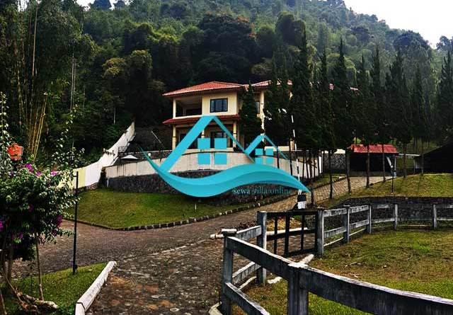 sewa villa cipanas