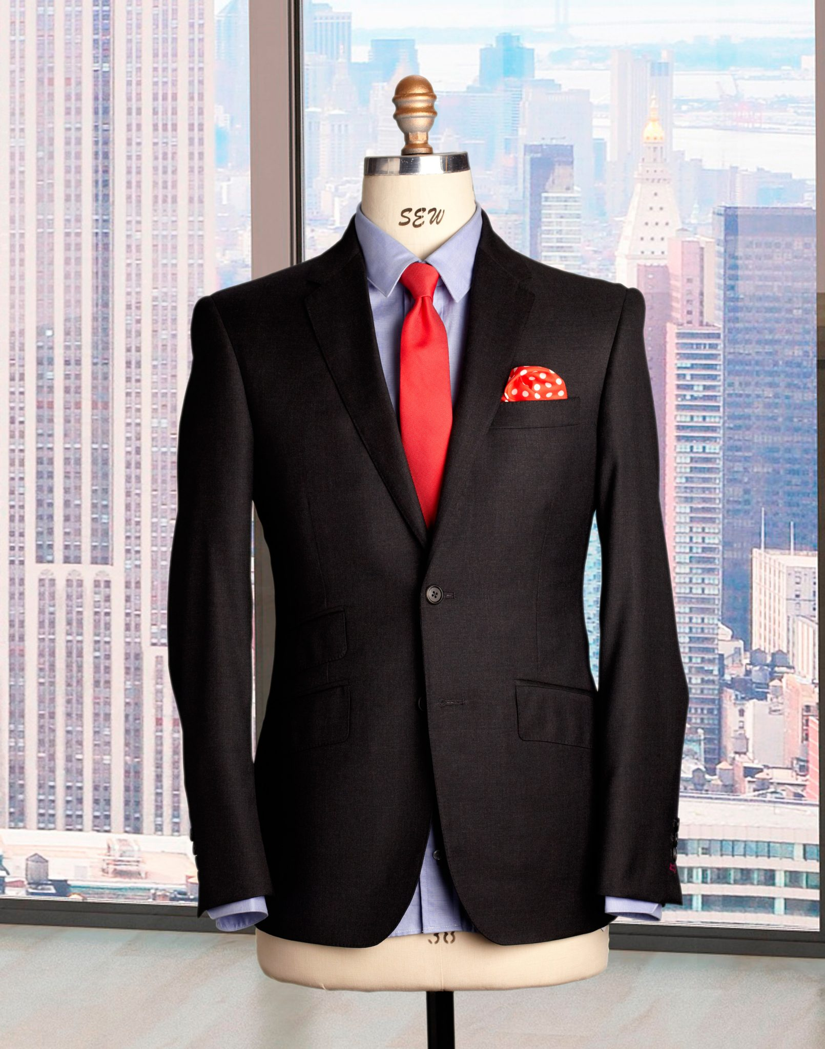 Hand tailored custom suits NY
