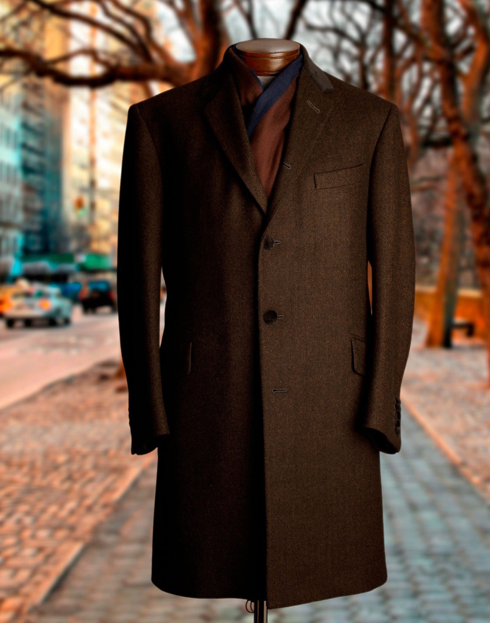 Custom Suits Overcoats Tuxedos Shirts NYC