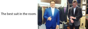 Custom Suits Shirts and Jackets Midtown NY