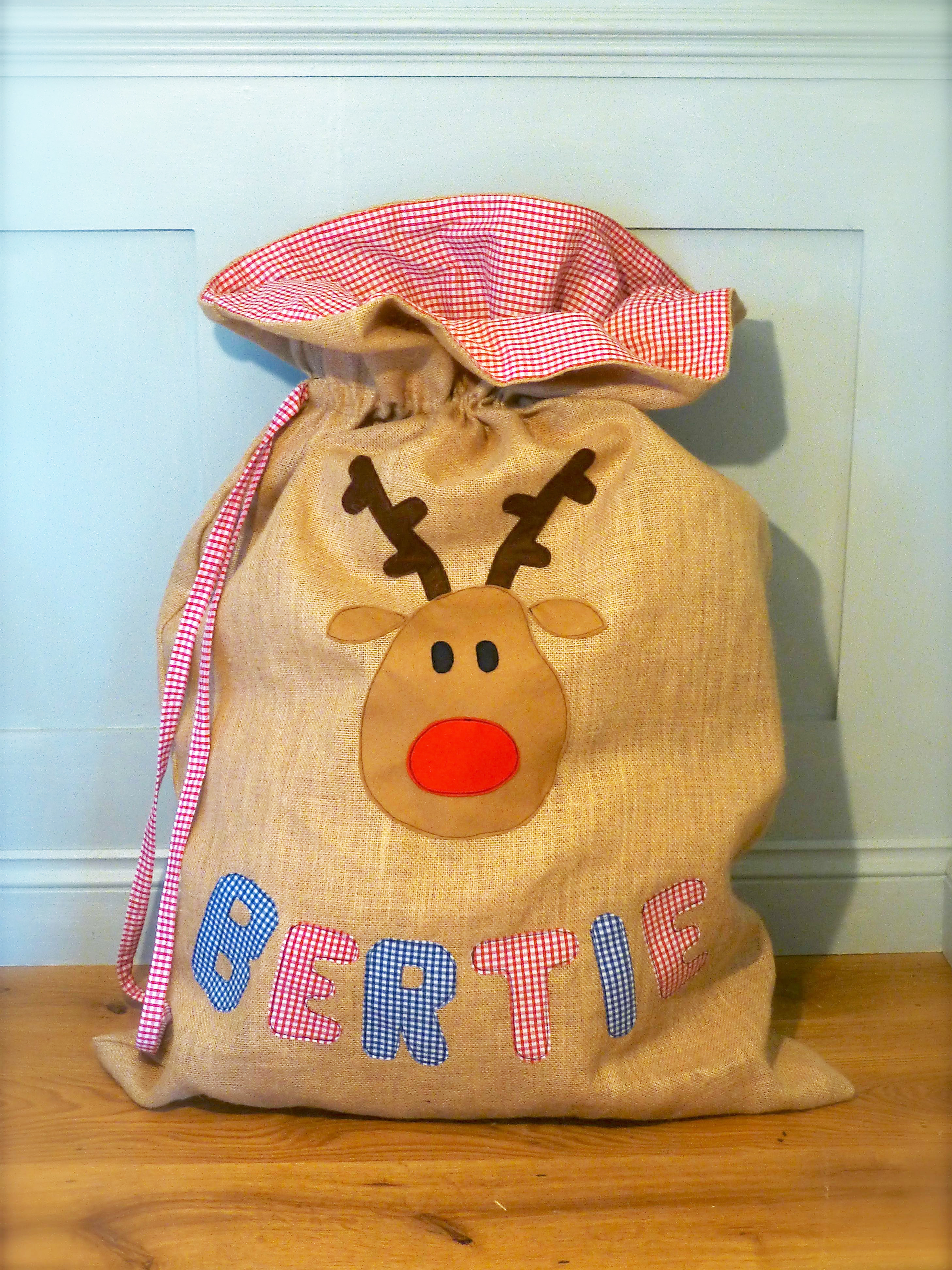 Personalised Christmas Sacks A Tutorial