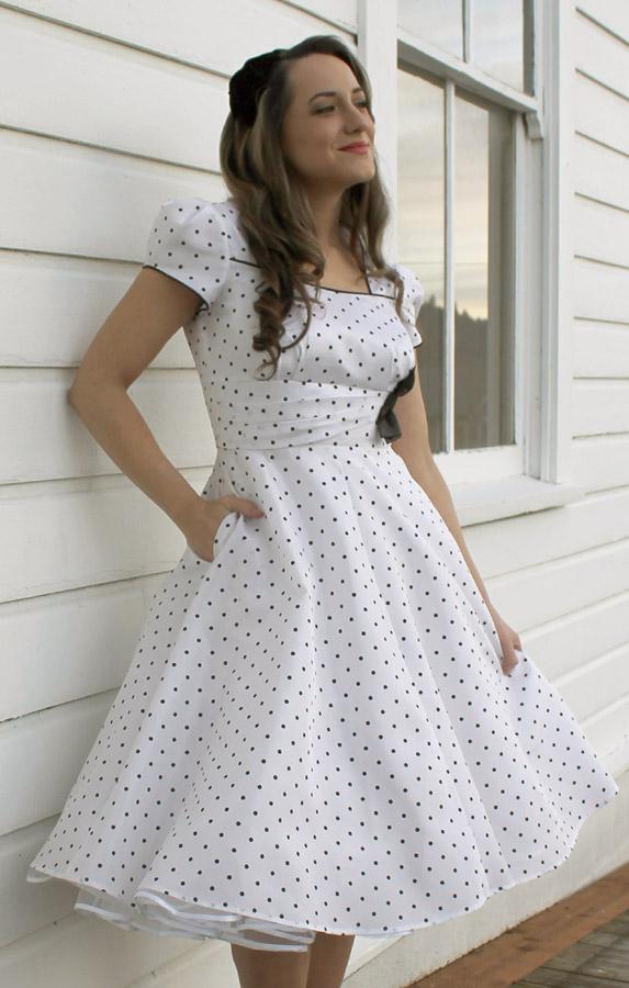 LN1720 Averly Dress   Sew Chic Patterns