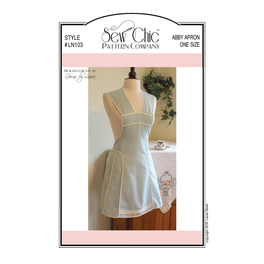 Sew Chic Apron | www.topsimages.com