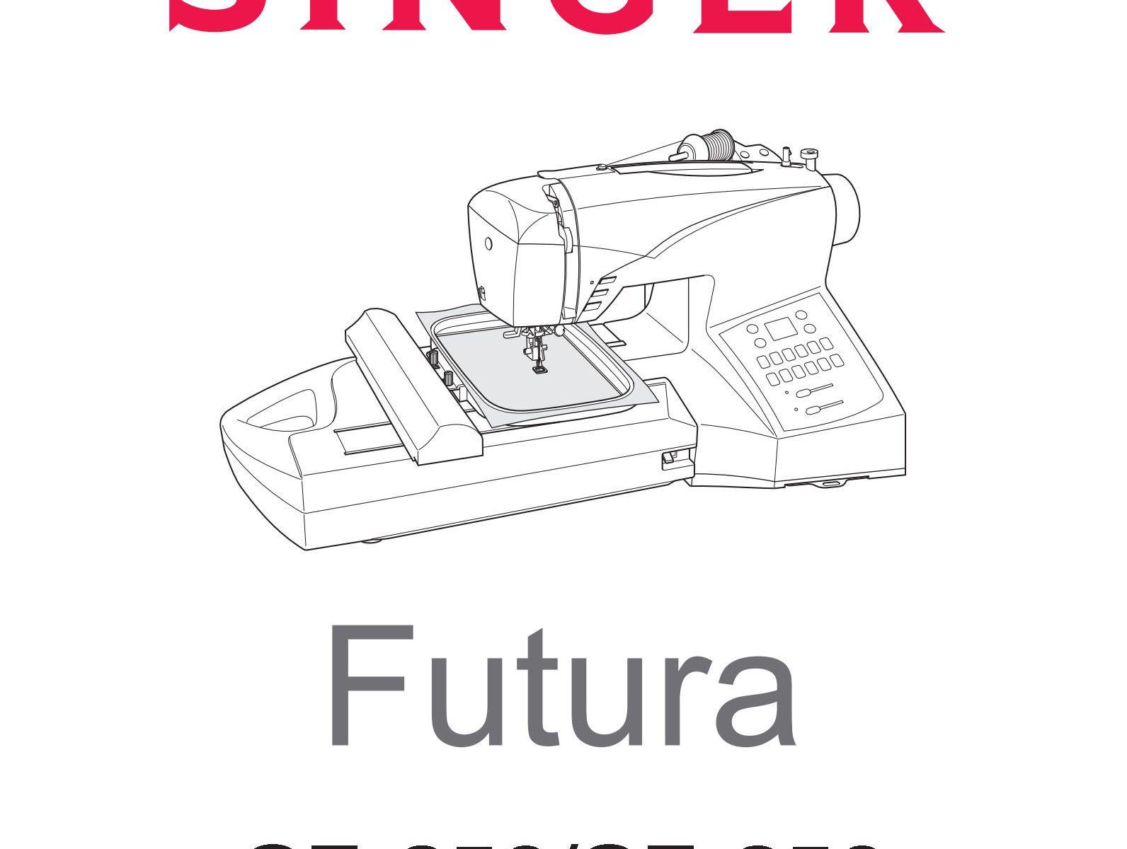 Singer Ce250 Ce350