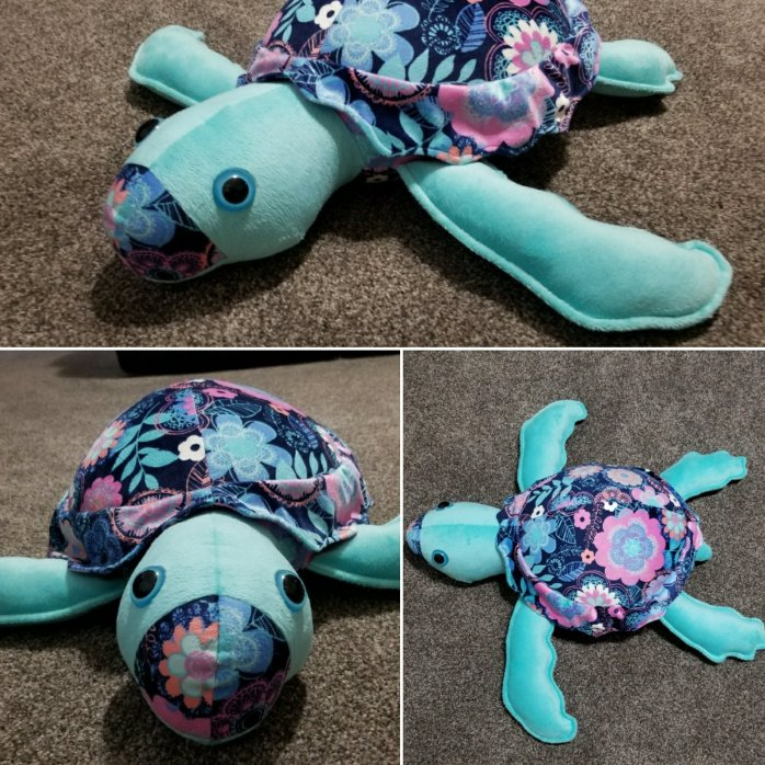 sea turtle plush pillow