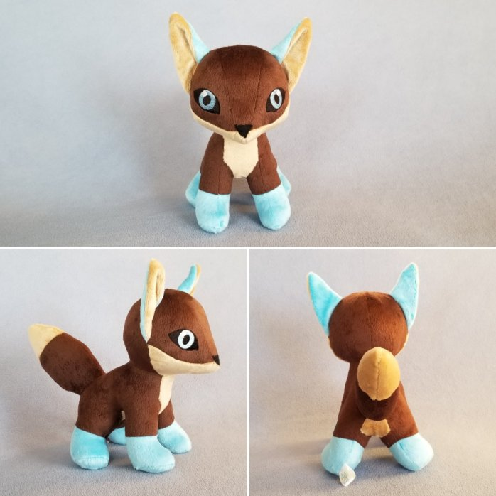 Custom Fox Plush