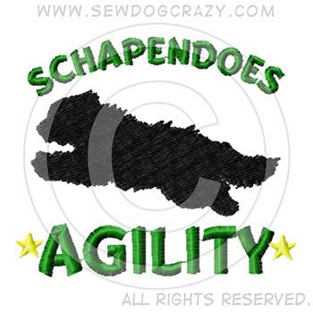 Schapendoes Agility Shirts