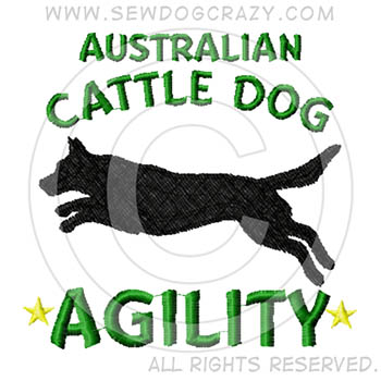 Cattle Dog Agility SHIRTs
