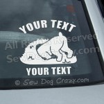 Add Your Own Text Terrier Decal