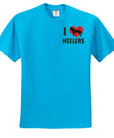Embroidered Blue Heeler TShirt