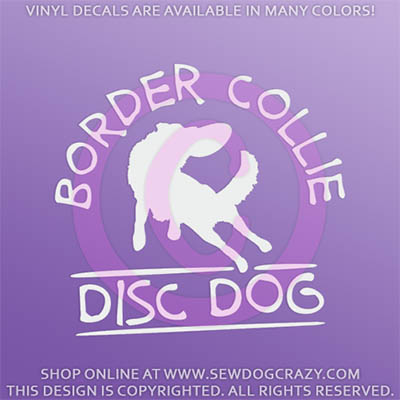Border Collie Disc Dog Gifts