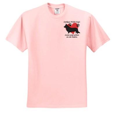 Cute Corgi Embroidered Shirt