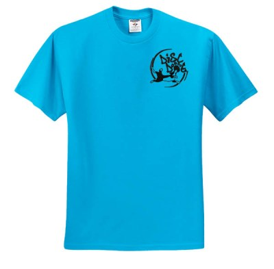 Awesome Disc Dog Embroidered T-Shirt