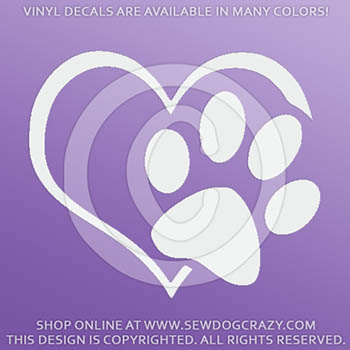 Love Dogs Vinyl Decal