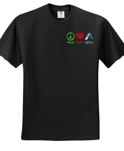 Embroidered Dog Agility T-Shirt